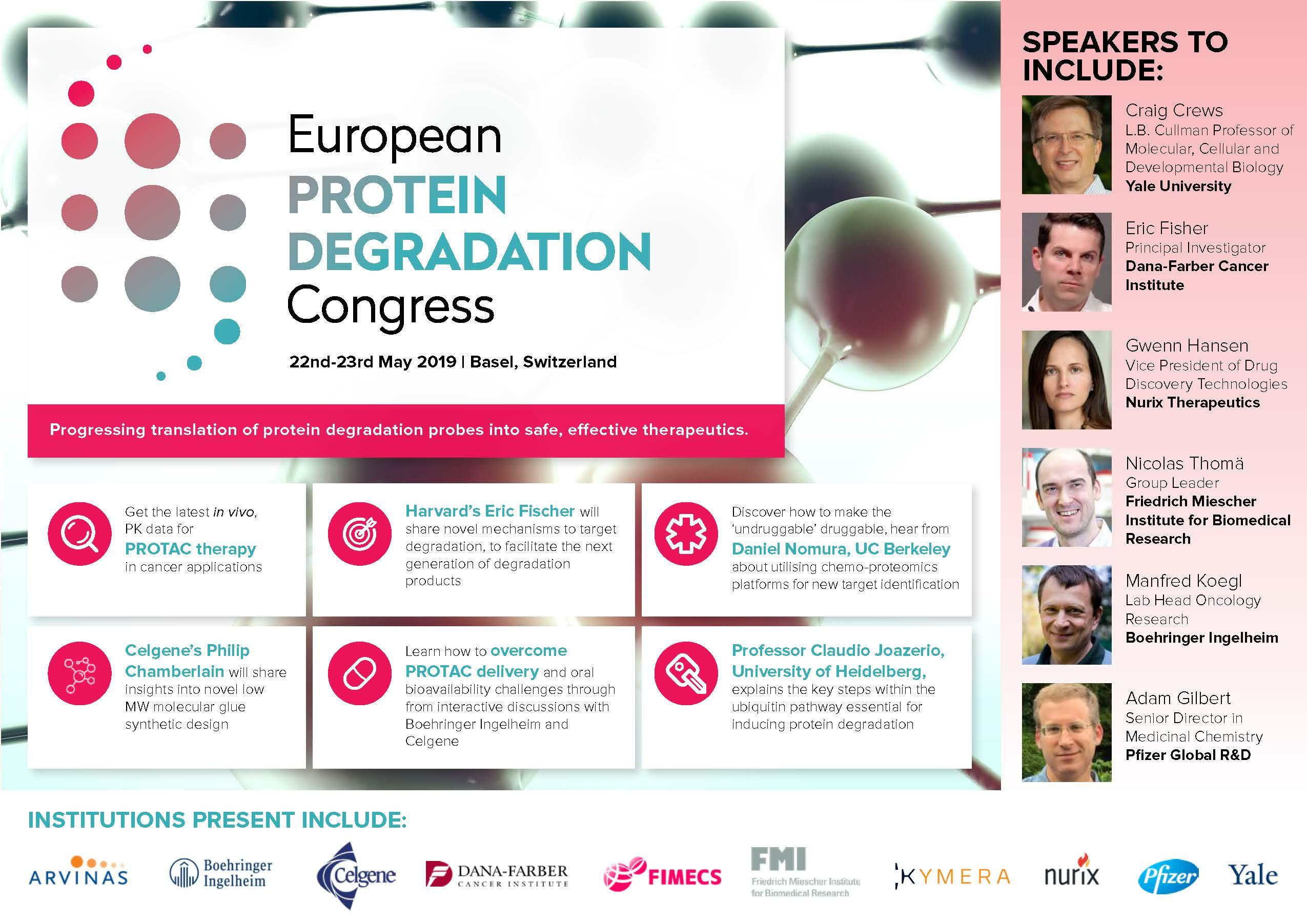 European Protein Degradation Congress